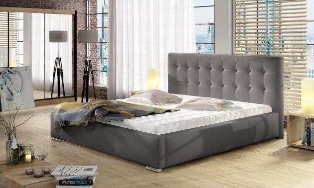 Łóżko tapicerowane Dolores 140x200