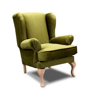 Zestaw fotel + puf Charme
