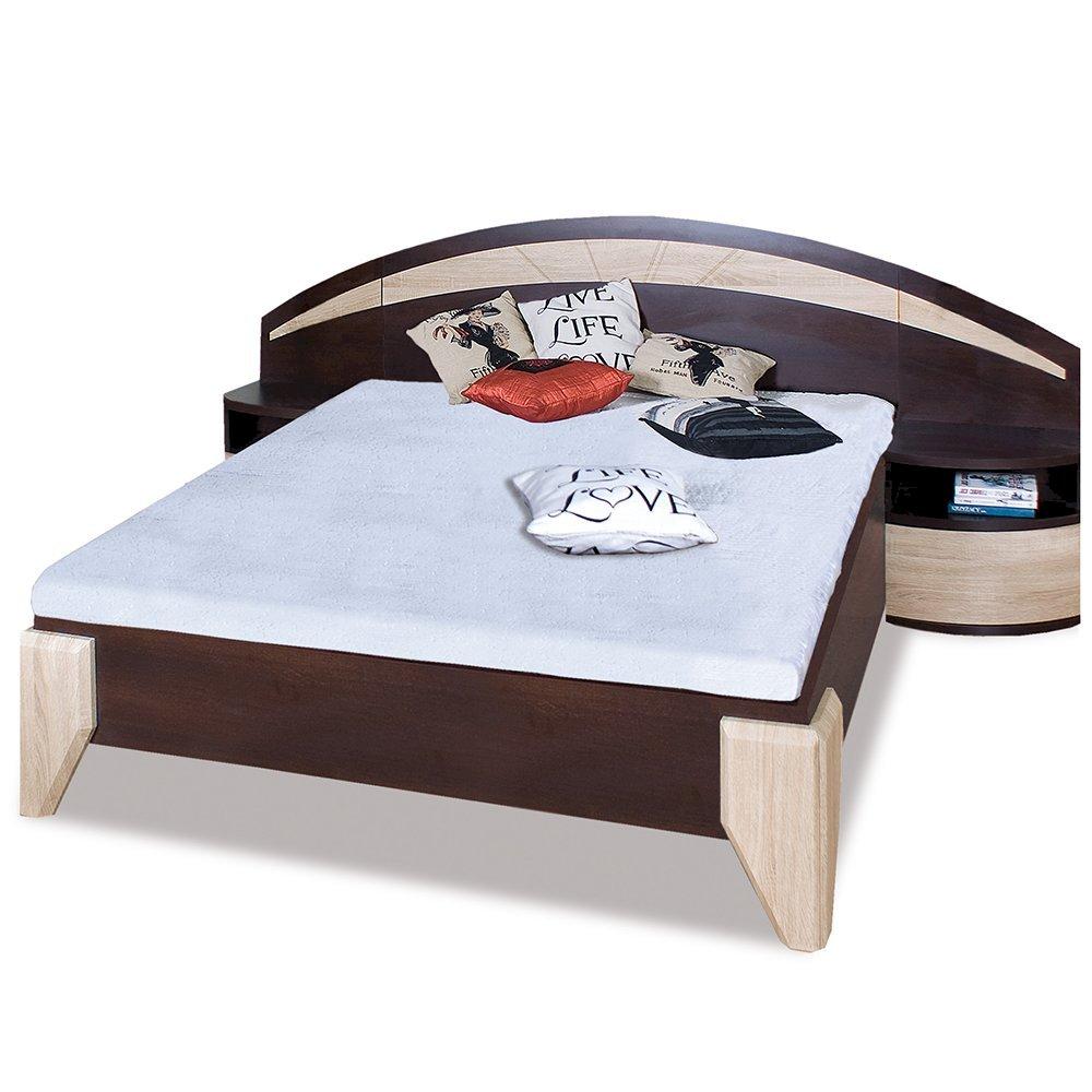 Łóżko Dome 160x200 DL1-1 z szafkami