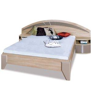 Łóżko Dome 160x200 DL2-1 z szafkami