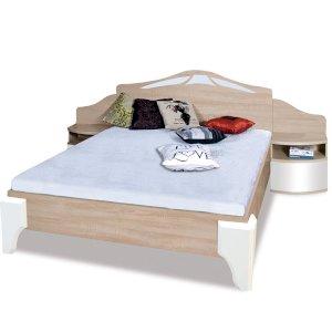 Łóżko Dome 160x200 DL2-4 z szafkami