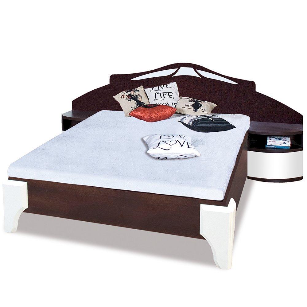 Łóżko Dome 160x200 DL1-4 z szafkami