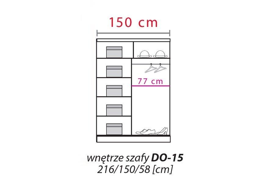 Szafa przesuwna Dome DO3-15