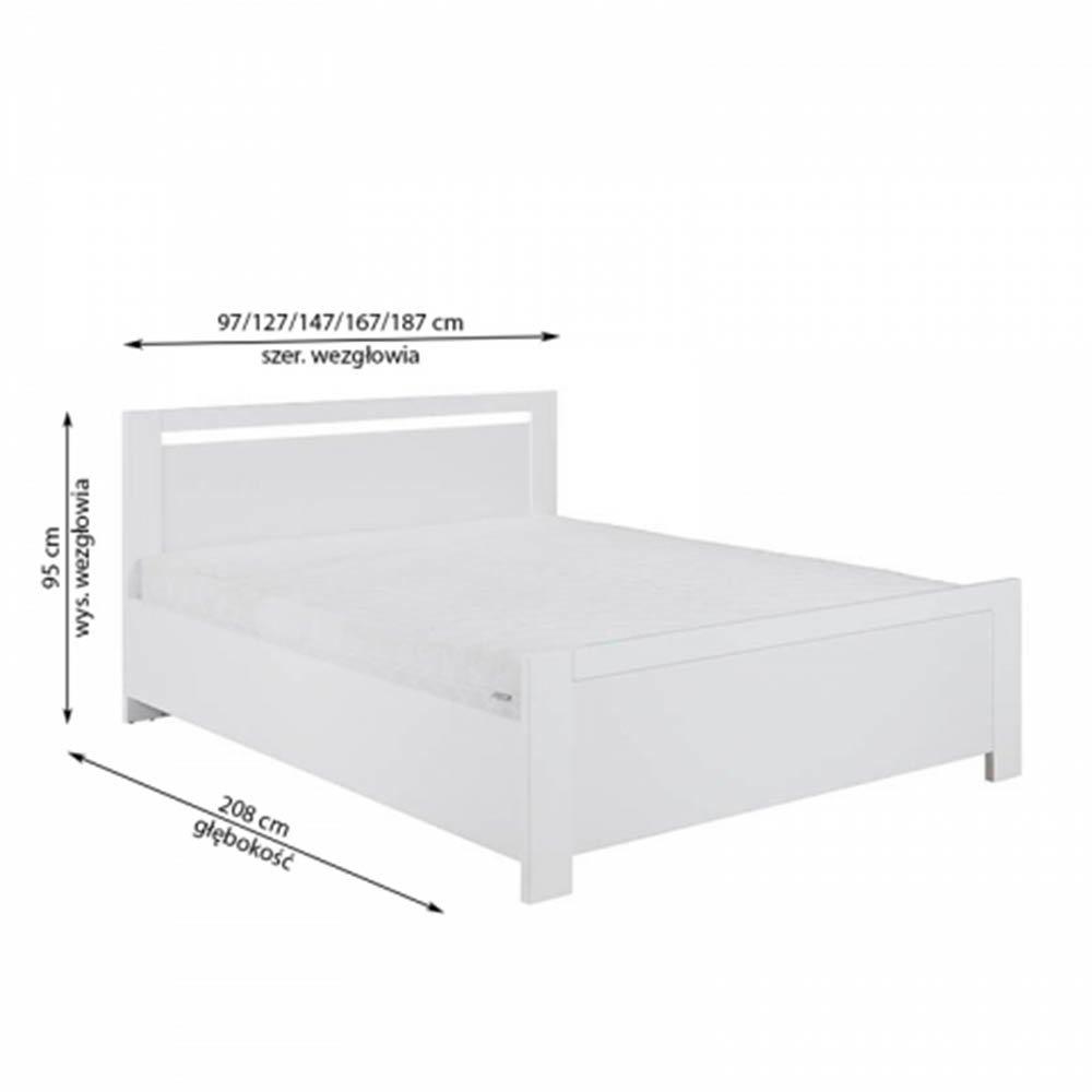 Łóżko New York 160x200