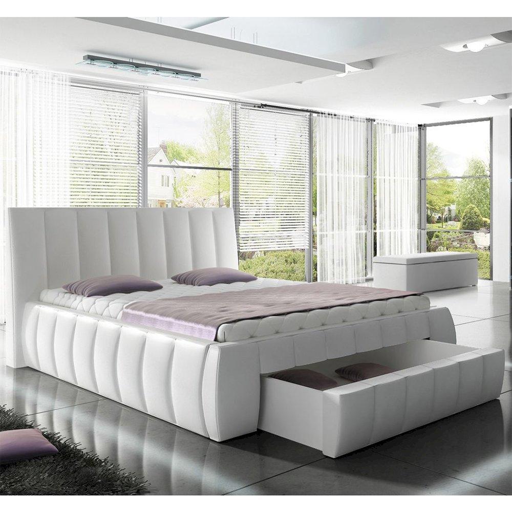 Łóżko tapicerowane Roma 140x200