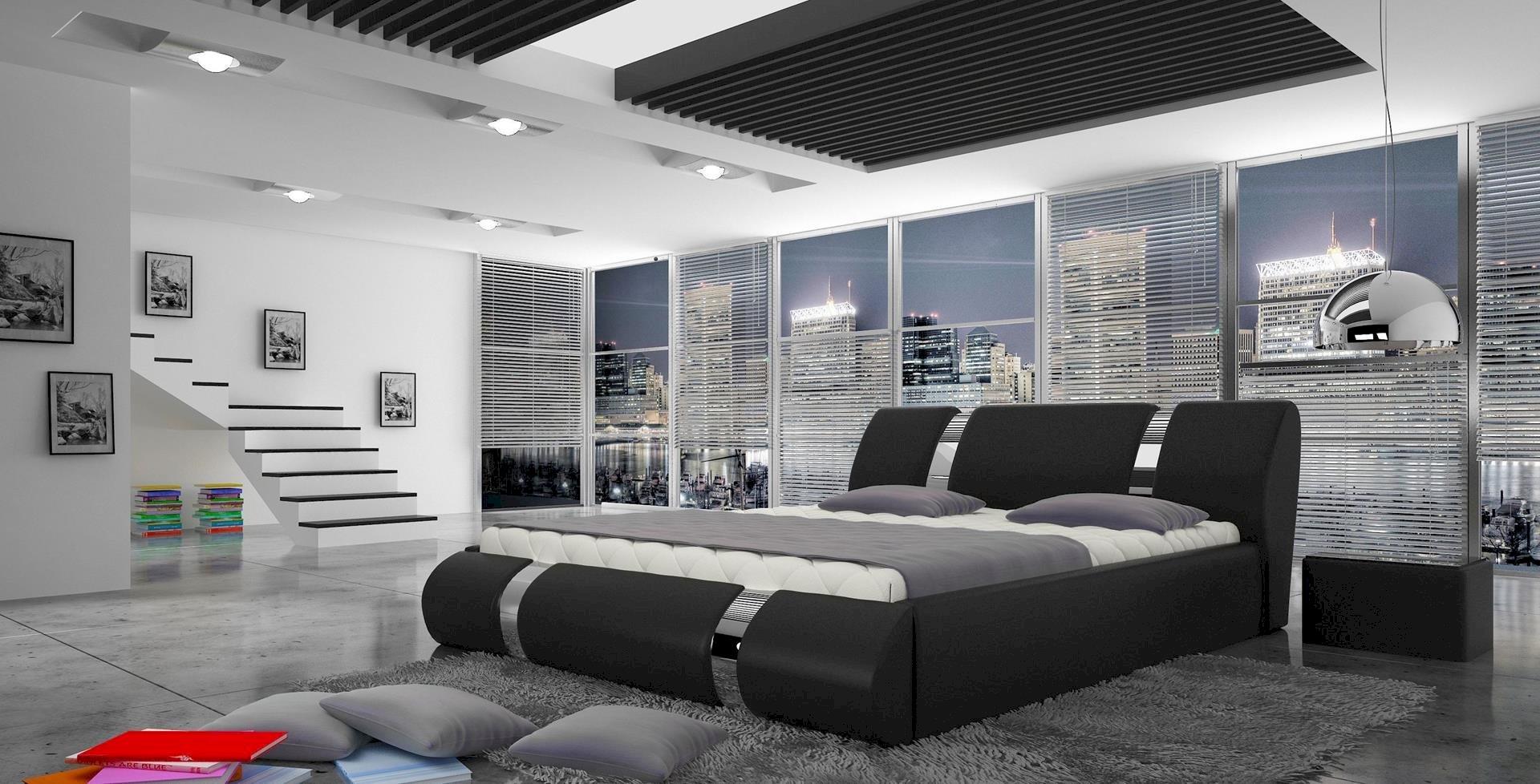 Łóżko tapicerowane Atlantis 160x200