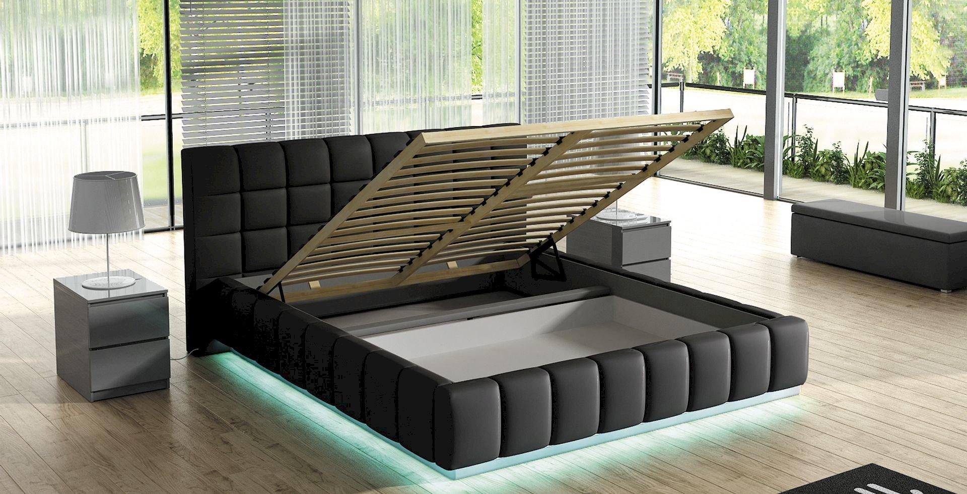 Łóżko tapicerowane Prato 140x200