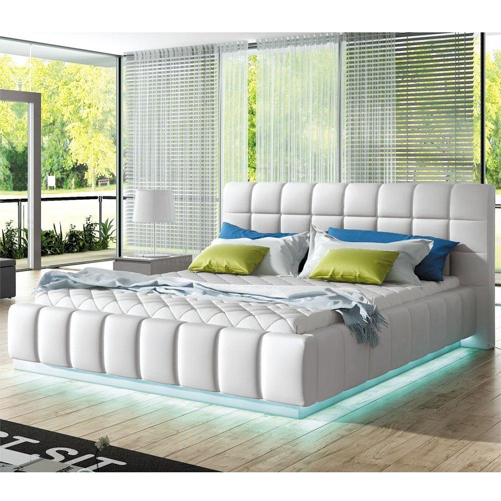 Łóżko tapicerowane Prato 180x200