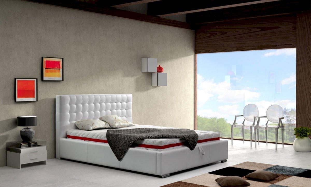 Łóżko tapicerowane Alice 140x200