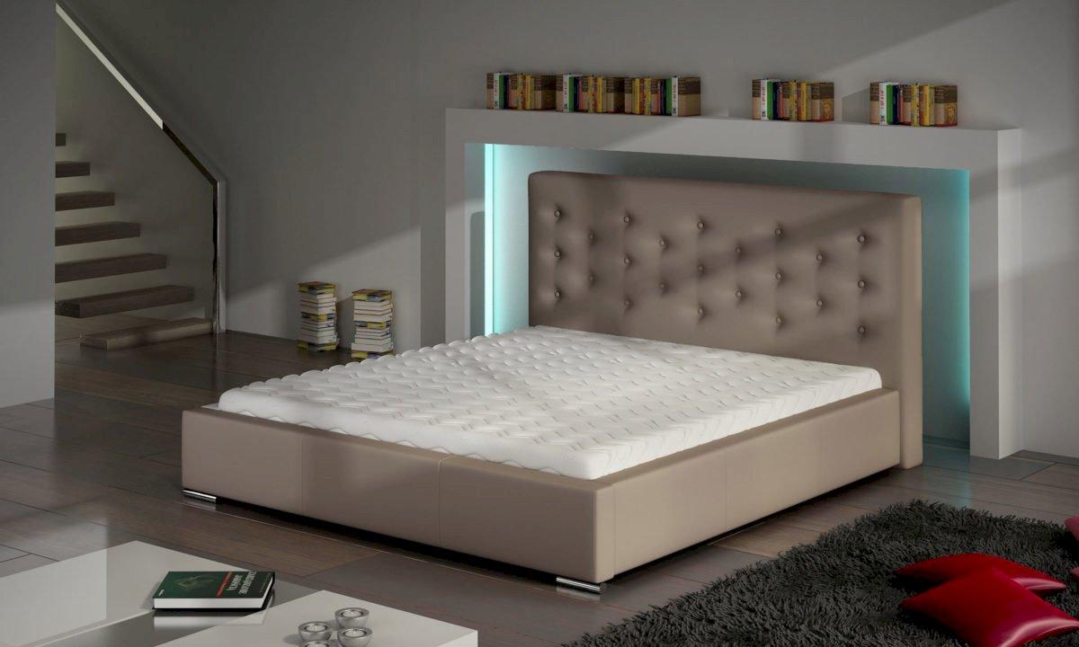 Łóżko tapicerowane Savanna 140x200