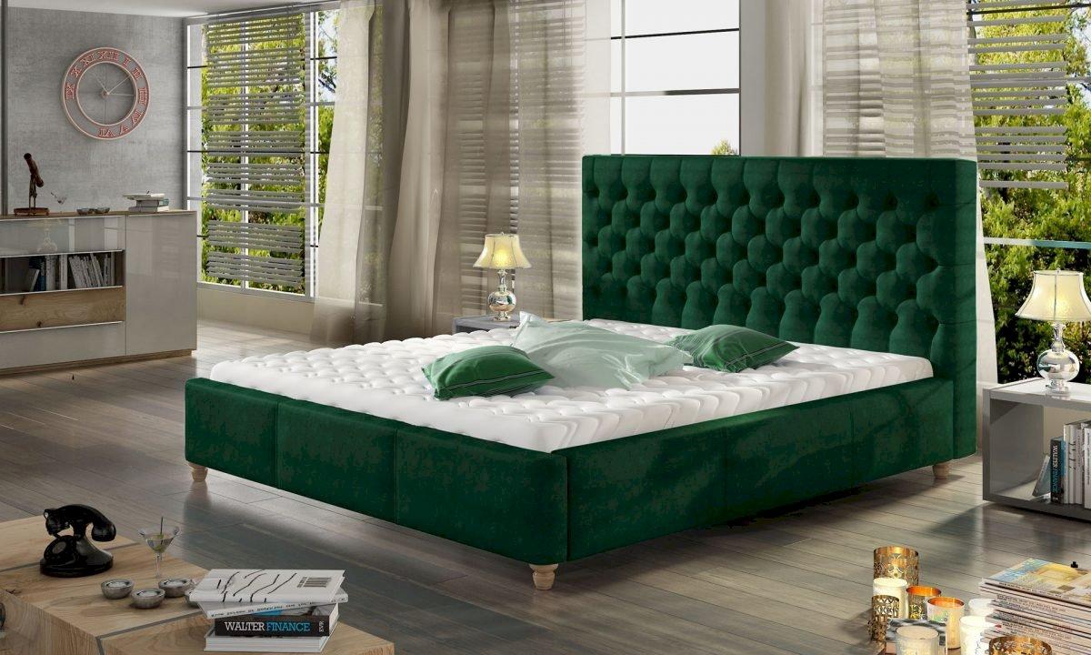 Łóżko tapicerowane Chester 140x200