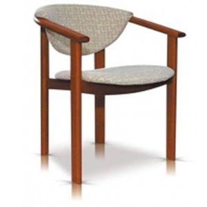 Fotel drewniany F1