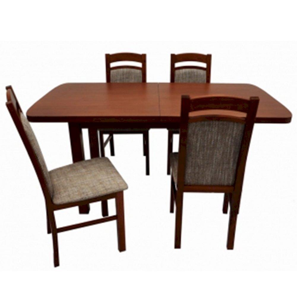 Stół STF12 + 4 krzesła KT05 (zest. DM1)