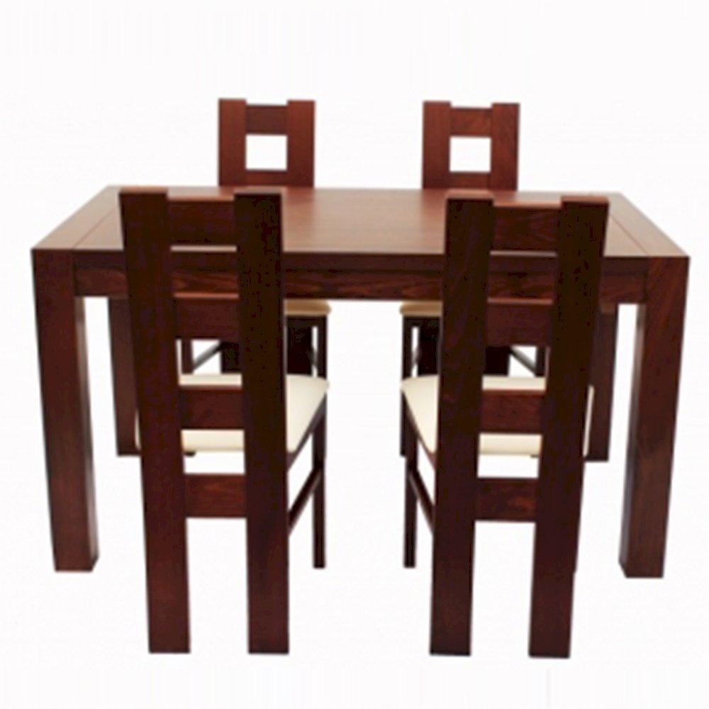 Stół STF40/1 + 4 krzesła KT39 (zest. DM5)