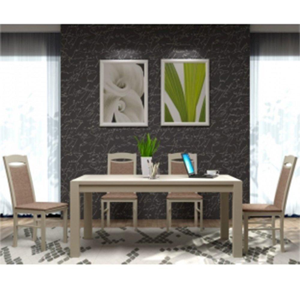 Stół STF40/1 + 4 krzesła KT04 (zest. DM22)