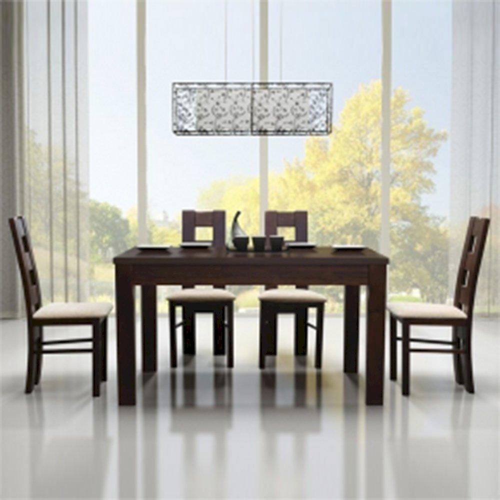 Stół STF64/1 + 4 krzesła KT39 (zest. DM21)