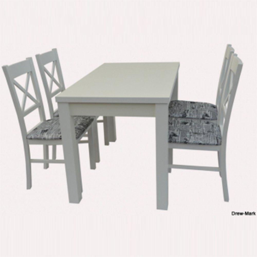 Stół STL62/1 + 4 krzesła KT22 (zest. DM12)