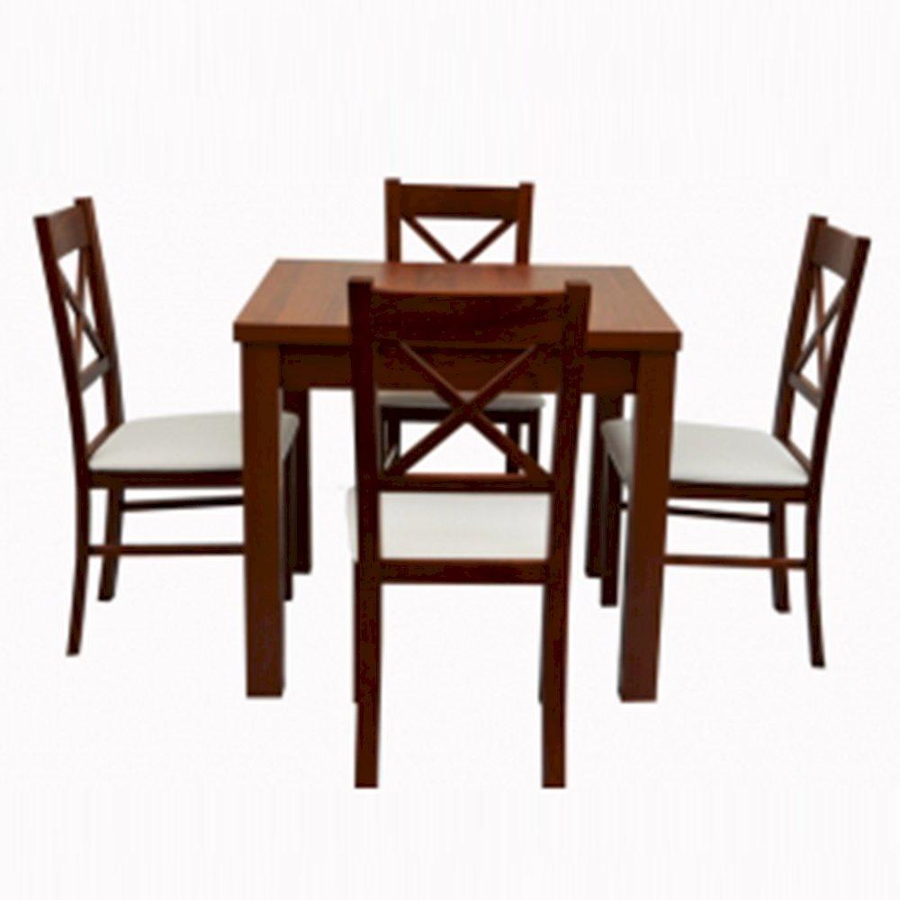 Stół STL62 + 4 krzesła KT22 (zest. DM13)