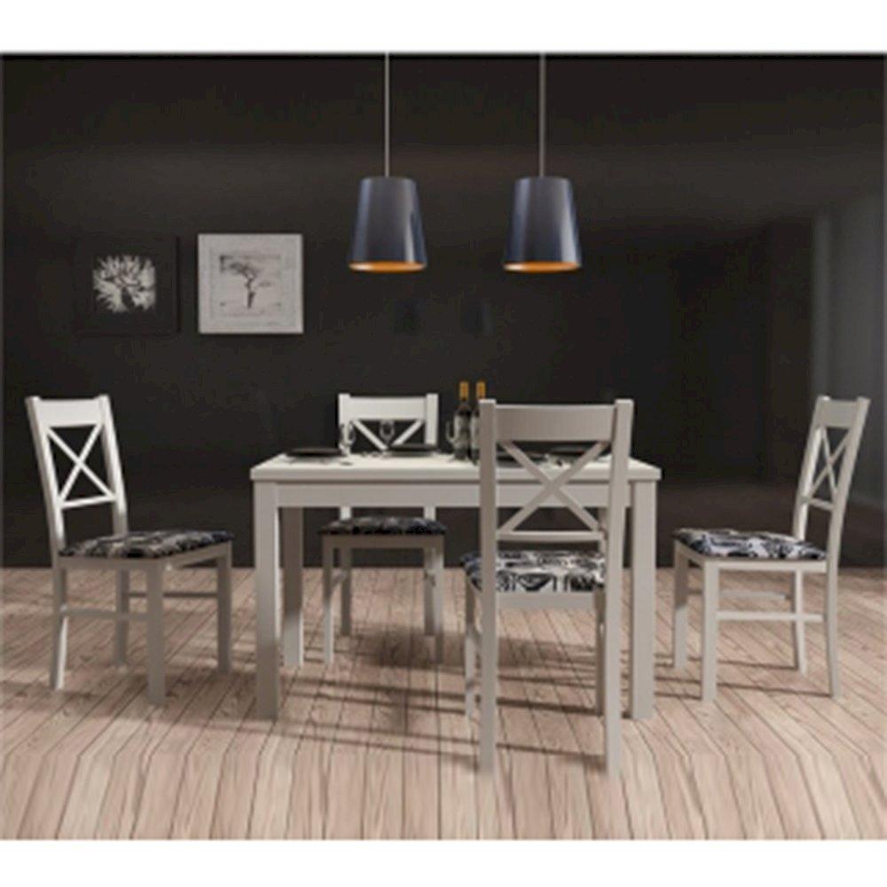 Stół STL62/0 + 4 krzesła KT22 (zest. DM15)