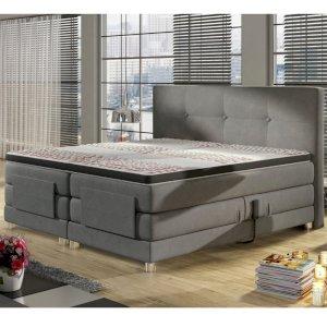 Łóżko kontynentalne Mario Electric 90x200 + Soft Top