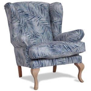 PROMOCJA Zestaw fotel + puf Charme