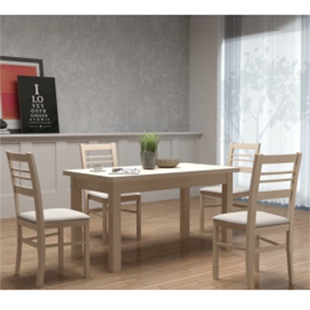 Stół STL22 + 4 krzesła KT50 (zest. DM2)