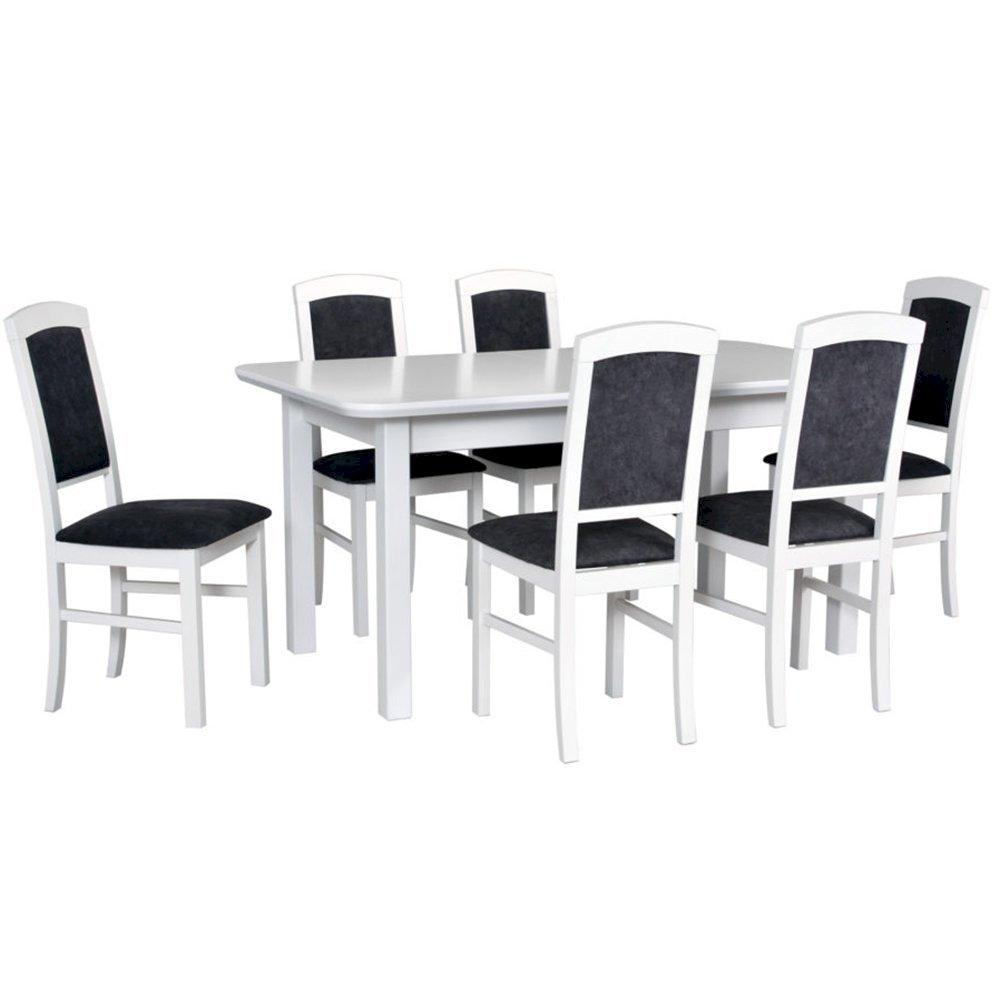 Stół Wenus V + 6 krzeseł Nilo IV (zest. DX24)