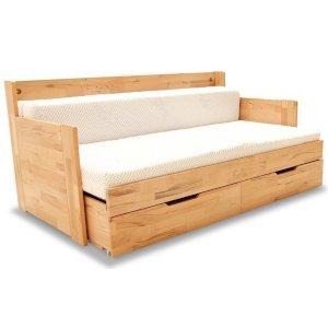 Łóżko Drewniane DUO C