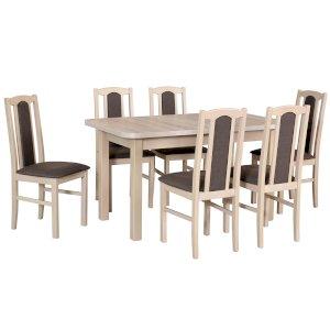 Stół Wenus II L + 6 krzeseł Boss VII (zest. DX18)