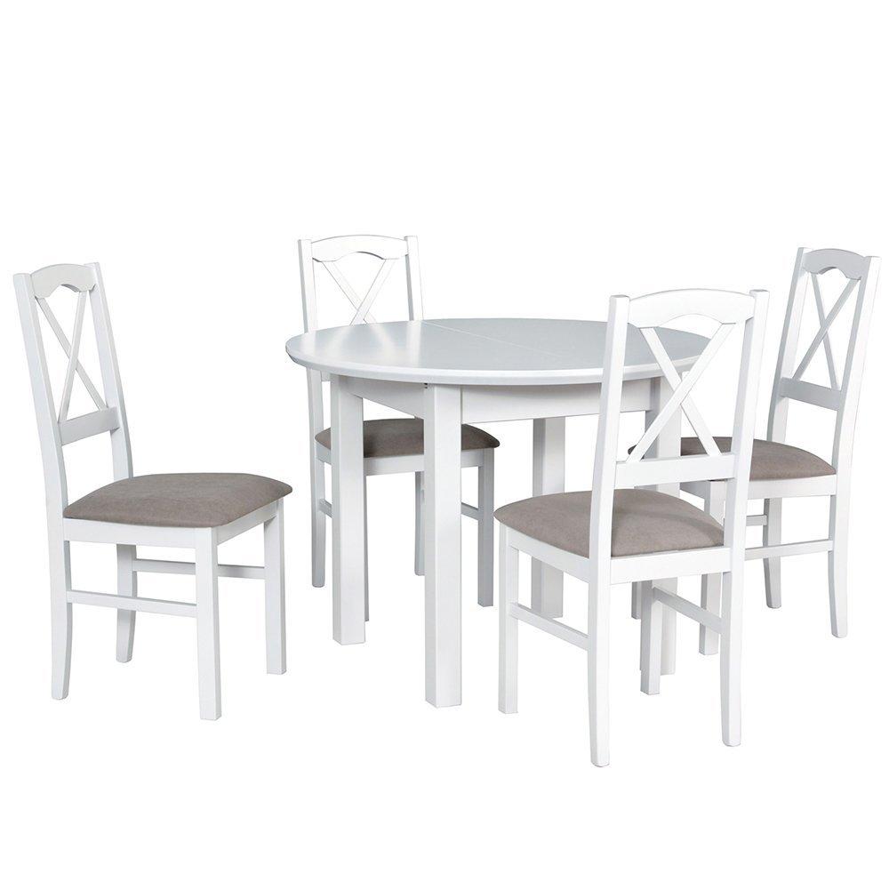 Stół Poli 1 + 4 krzesła Nilo 11