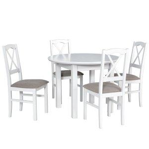 Stół Poli 1S + 4 krzesła Nilo 11