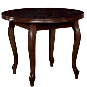Stół okrągły Fornir 5 100x100/140