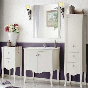 Stylizowane meble łazienkowe 80 cm Elisabeth z umywalką