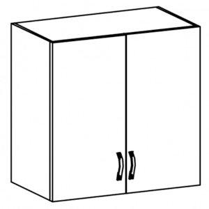 Sycylia - G80 - szafka wisz. 80 drzwi pełne Orzech Milano