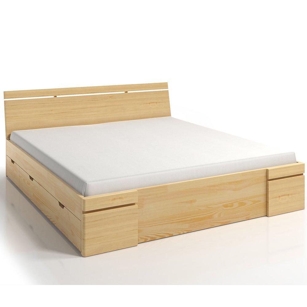 łóżko Sparta Maxi Dr 120x200 Sosnowe