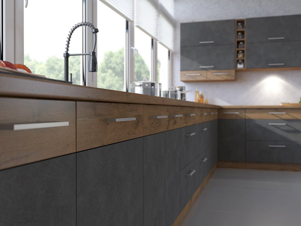 Meble kuchenne Vigo Matera zestaw 255/72