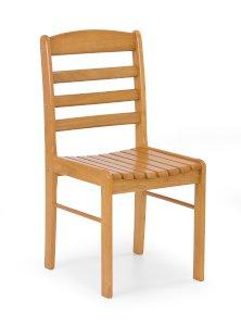 BRUCE krzesło olcha złota (1p=2szt)