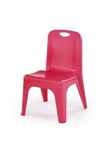 DUMBO krzesło dla dzieci czerwony (1p=20szt)