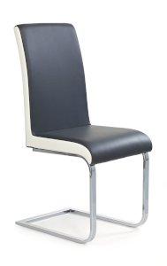K103 krzesło popiel-biały (2p=4szt)