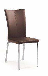 K113 krzesło ciemny brąz (1p=4szt)