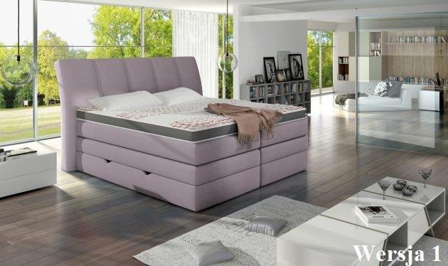 Łóżko kontynentalne Korfu 160x200 + Hard Top