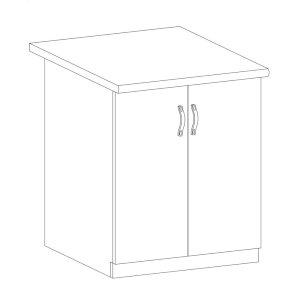 Sycylia - D60 - szafka dolna 60 2 drzwi