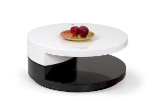 Ława / stolik Madeleine Czarno Biały