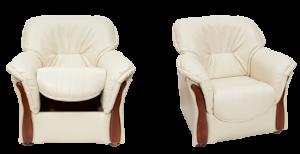 Fotel tapicerowany Honorata