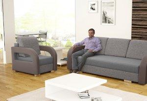 Fotel tapicerowany Laura